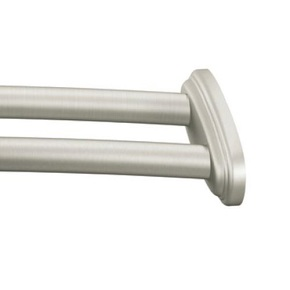 Moen DN2141BN 60 inch Fixed Length Double Curved Shower Rod