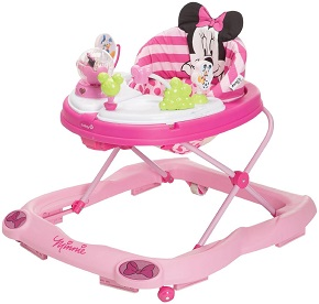 Disney Minnie Mouse Glitter Music and Lights Walker