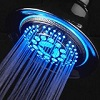 Dream Spa All-Chrome Water Temperature Color-Changing LED Shower Head