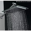 AKDY Bathroom Chrome Shower Head 8-inch AZ6021