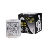 Big Mouth Toys Over The Hill Toilet Paper