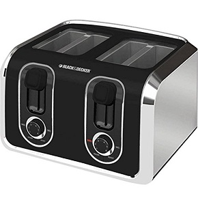 Black & Decker TR1400SB 4-Slice Toaster