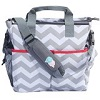 Bula Baby-Stylish Chevron Diaper Bag