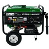 Duromax XP4850EH Dual Fuel Propane/Gas Powered Portable Electric Start Generator, 4850-watt