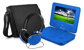 Ematic EPD707BU 7-Inch Portable DVD Player