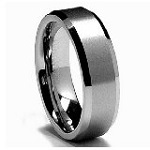 King Will 6MM Tungsten Carbide Men's Wedding Band Ring