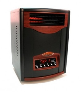 Matte Black Comfort Furnace Heater UV