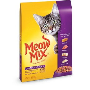 Meow Mix Dry Cat Food Chicken & Turkey