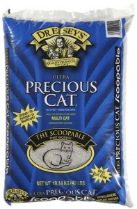 Precious Cat Ultra Premium Clumping Cat Litter