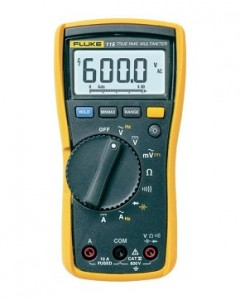 The Fluke 115 Compact True-RMS Digital Multimeter