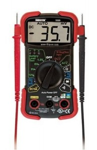 The INNOVA 3320 Auto-Ranging Digital Multimeter