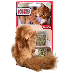 The KONG Squirrel Catnip Toy