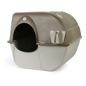 The Omega Paw Self-Cleaning Litter Box