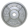 Troy Barbell Gray Olympic Weight Plate