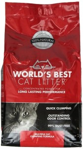 World's Best Cat Litter Cat Scoopable Multiple Cat Clumping Formula