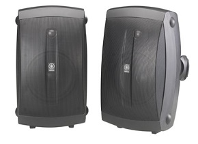 Yamaha NS-AW350B 2-Way Indoor/Outdoor Speakers