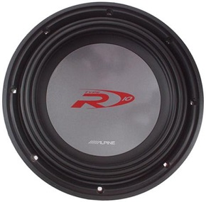 Alpine Type-R SWR-1542D Car subwoofer 750 Watt 15""