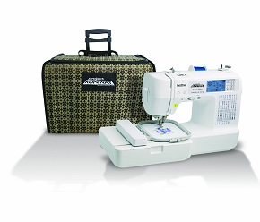 Brother LB6800PRW Project Runway Computerized Embroidery and Sewing Machine
