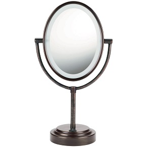 The Best Lighted Makeup Mirror January 2017 Toprateten