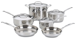 Cuisinart 77-10 Chef's Classic Stainless Cookware Set