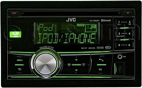 JVC KW-R800BT In-Dash AM/FM/CD Car Stereo Receiver with Bluetooth