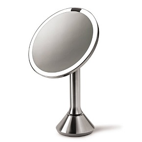 simplehuman sensor mirror best lighted makeup mirror overall. Black Bedroom Furniture Sets. Home Design Ideas