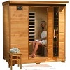 4 Person Sauna Heat Wave Hemlock 9