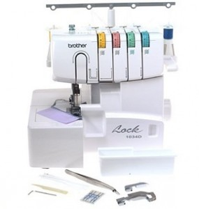 Brother 1034D 3 or 4 Thread Serger