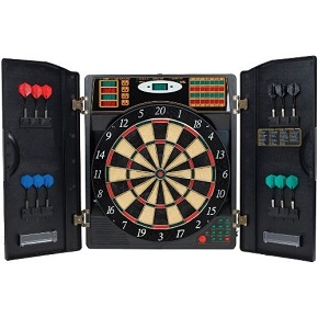 Bullshooter by Arachnid E-Bristle 1000 Electronic Dart Board Complete Set