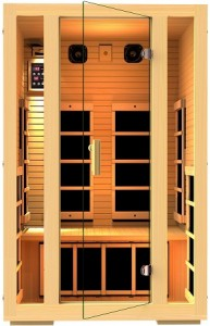 JNH Lifestyles 2 Person Far Infrared Sauna
