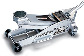 Powerzone 380044 3 Ton Aluminum and Steel Garage Jack