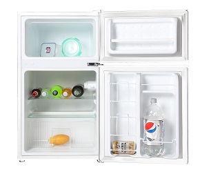 midea WHD-113FW1 Double Reversible Door Refrigerator and Freezer