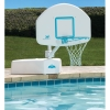 Splash and Shoot Swimming Pool Basketball Hoop with Stainless Steel Rim