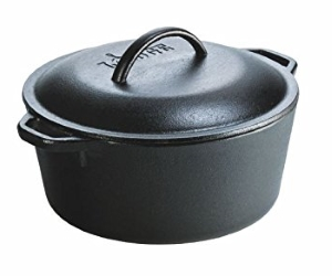 Lodge L8DOL3 Cast-Iron Dutch Oven
