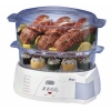 Oster Electronic 2-Tier 6.1-Quart Food Steamer