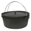 Stansport Non-Seasoned Cast Iron Dutch Oven