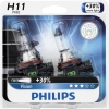 Philips H11 Vision Upgrade Headlight Bulb (Pack of 2)