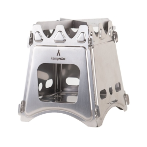 WoodFlame Ultra Lightweight Wood Burning Stove by kampMATE