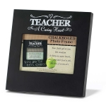 A Caring Heart Teacher Chalkboard Photo Frame