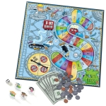 Learning Resources Money Bags Coin Value - Educational Board Game