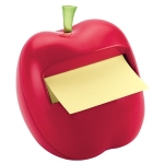 Post-it Pop-up Notes Dispenser for 3 x 3-Inch Notes, Apple Shaped Dispenser