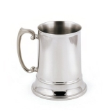 stainlesslux-73211-brilliant-double-walled-stainless-steel-large-beer-mug