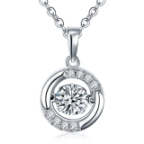 yl-dancing-diamond-sterling-silver-cubic-zirconia-pendant-necklace