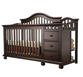 baby wid p changing qlt with graco prod cribs table crib hei