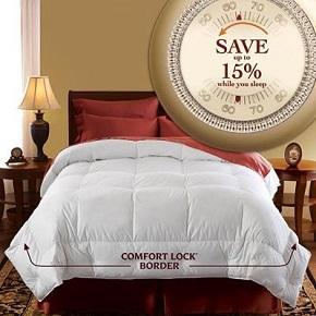 Pacific Coast European Down Comforter