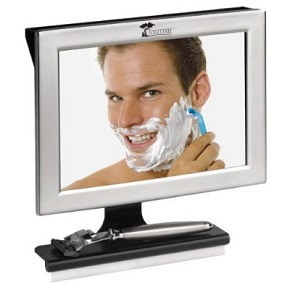 ToiletTree Fogless Shower Mirror with Squeegee