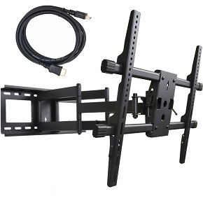 VideoSecu Articulating Full Motion TV Wall Mount