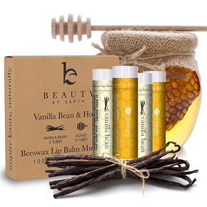 Beauty by Earth Lip Care Vanilla Bean & Honey Lip Butter