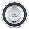 BOSS Audio CX122 Chaos Exxtreme 12-inch 1400-watt SINGLE Voice Coil Subwoofer