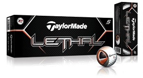 TaylorMade Lethal Golf Ball